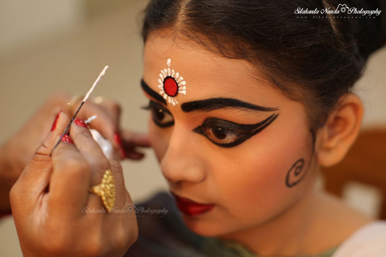 Make up Art of Odissi